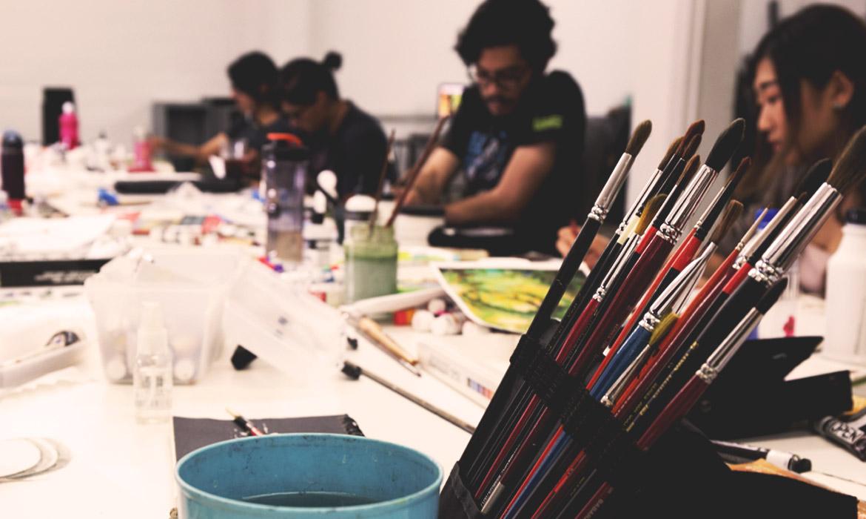 Fine Art Students