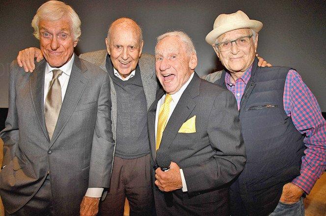 Dick Van Dyke, Carl Reiner, Jerry Van Dyke and Norman Lear