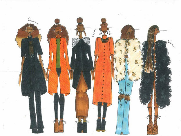 Fashion Lineup, PCAE Student Charnell Anderson