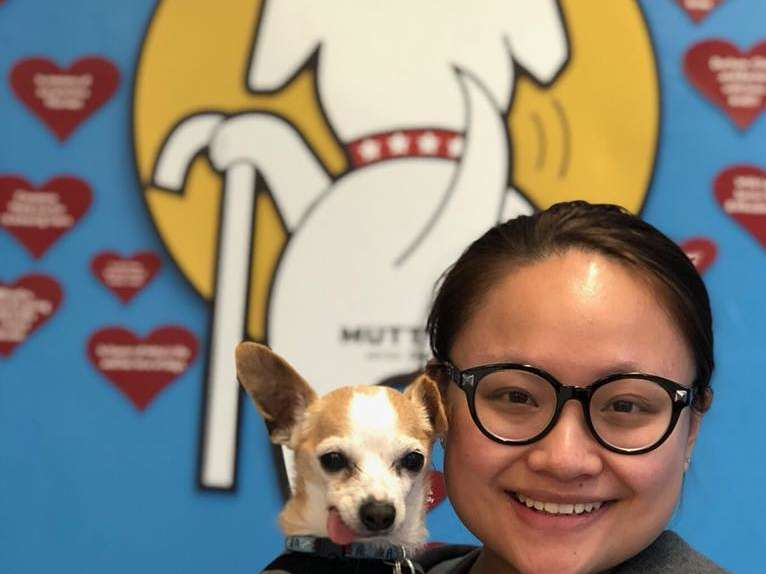Senior Dog Nemo Gets Second Chance with Academy Student