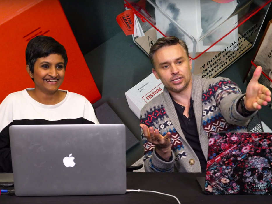 Watch MFA Graphic Design Student Krishnapriya Dutta Gupta on Adobe Live