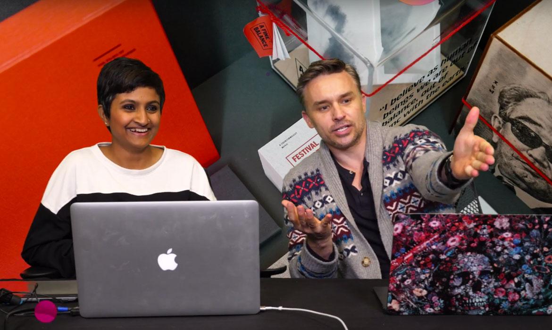 Watch MFA Graphic Design Student Krishnapriya Dutta Gupta on Adobe Live