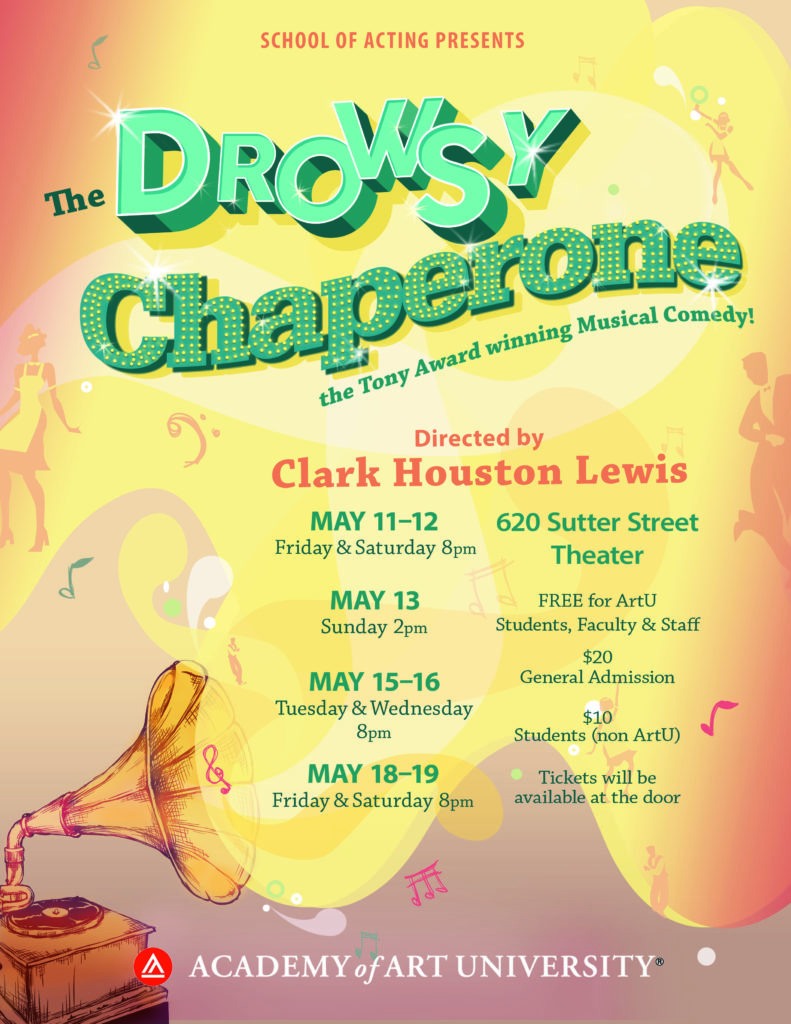 The Drowsy Chaperone School of Acting