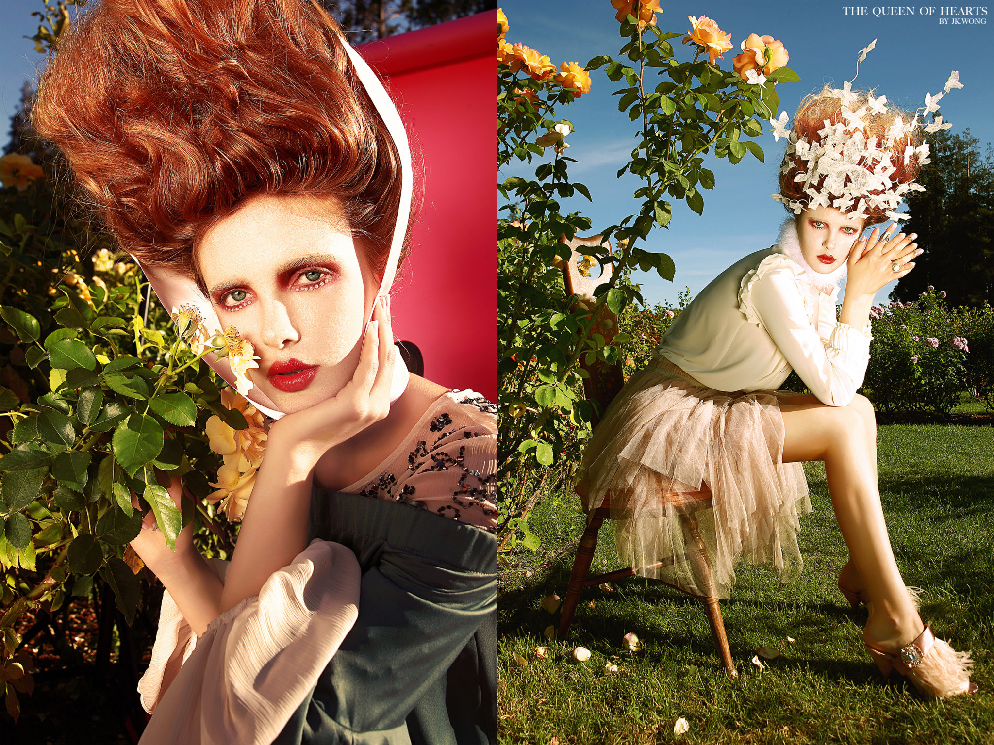 """""""Queen of Hearts"""" by JK Wong featured in Vogue Italia"""