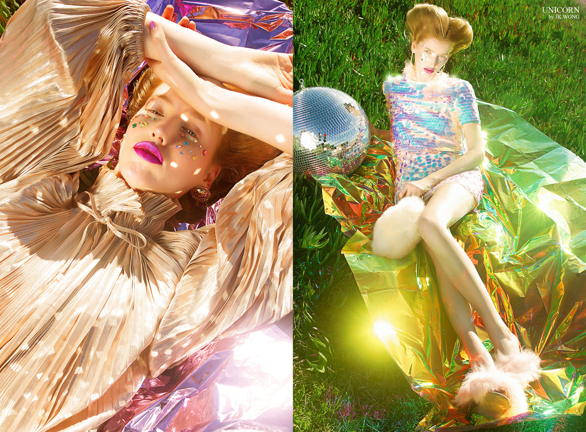 """""""Unicorn"""" by JK Wong featured in Vogue Italia"""