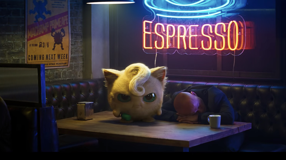 Realistic Jigglypuff from Detective Pikachu