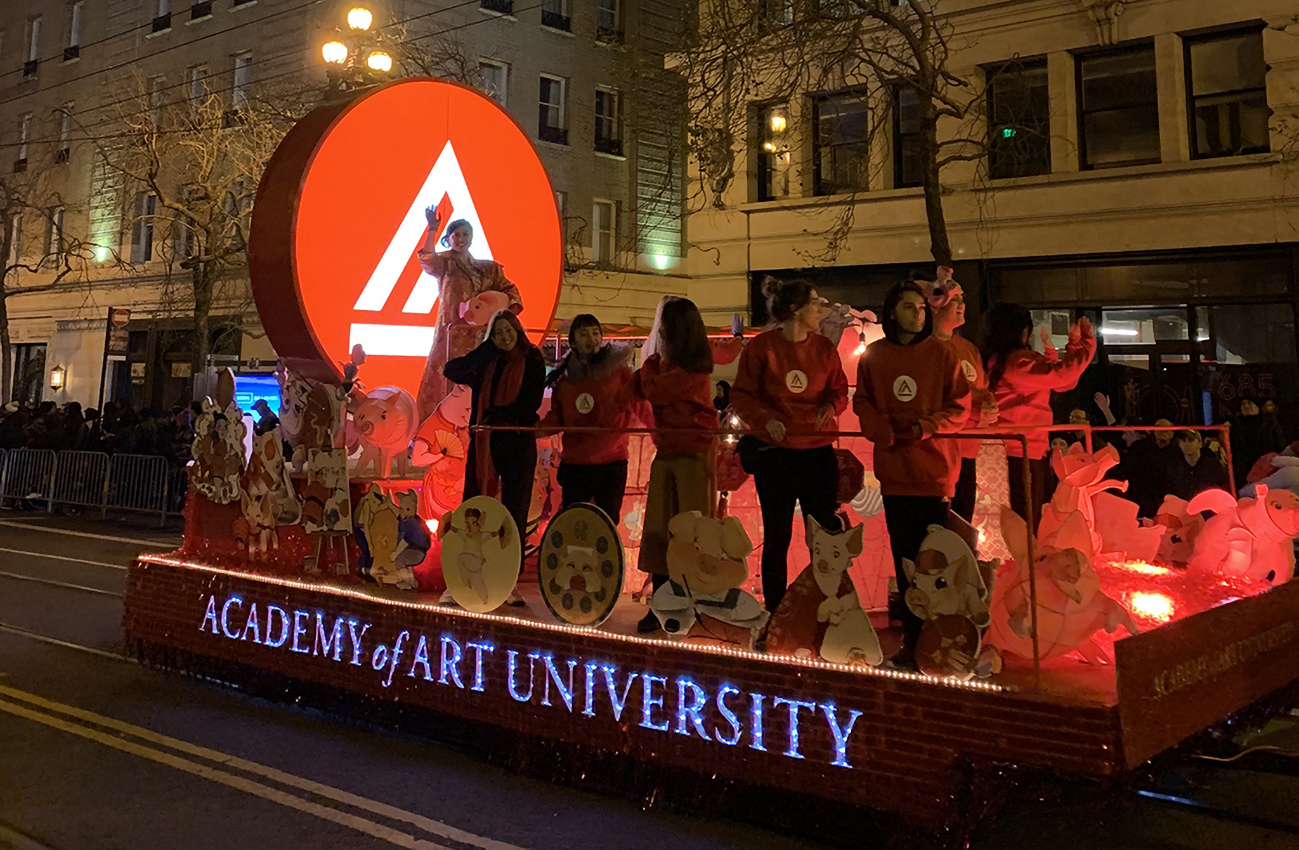 Academy of Art Chinese New Year 2019 Float