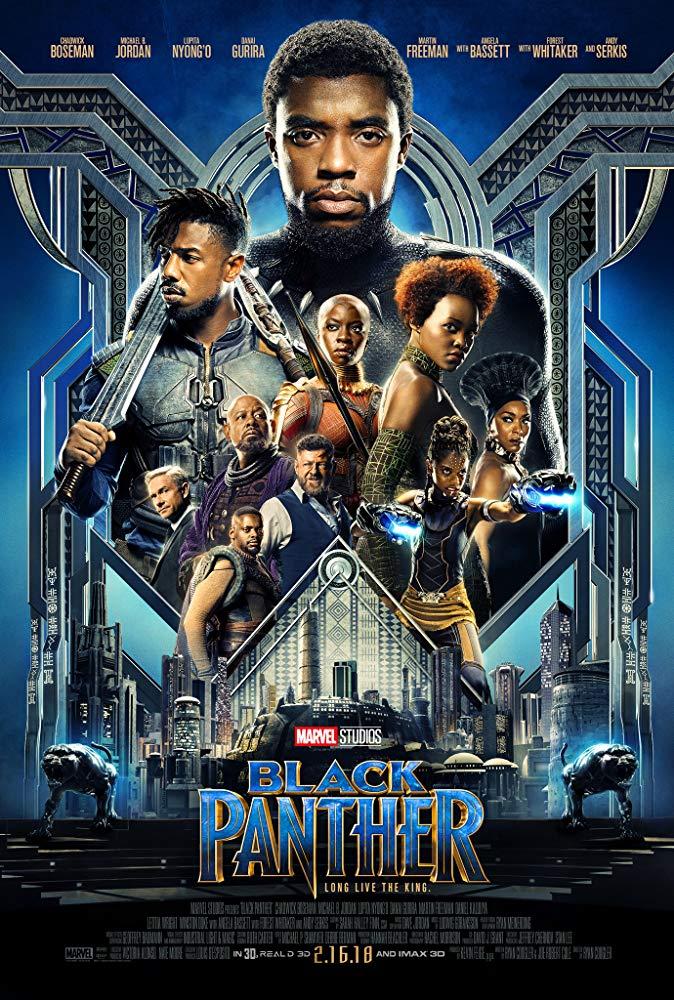Black Panther (2018), dir. Ryan Coogler