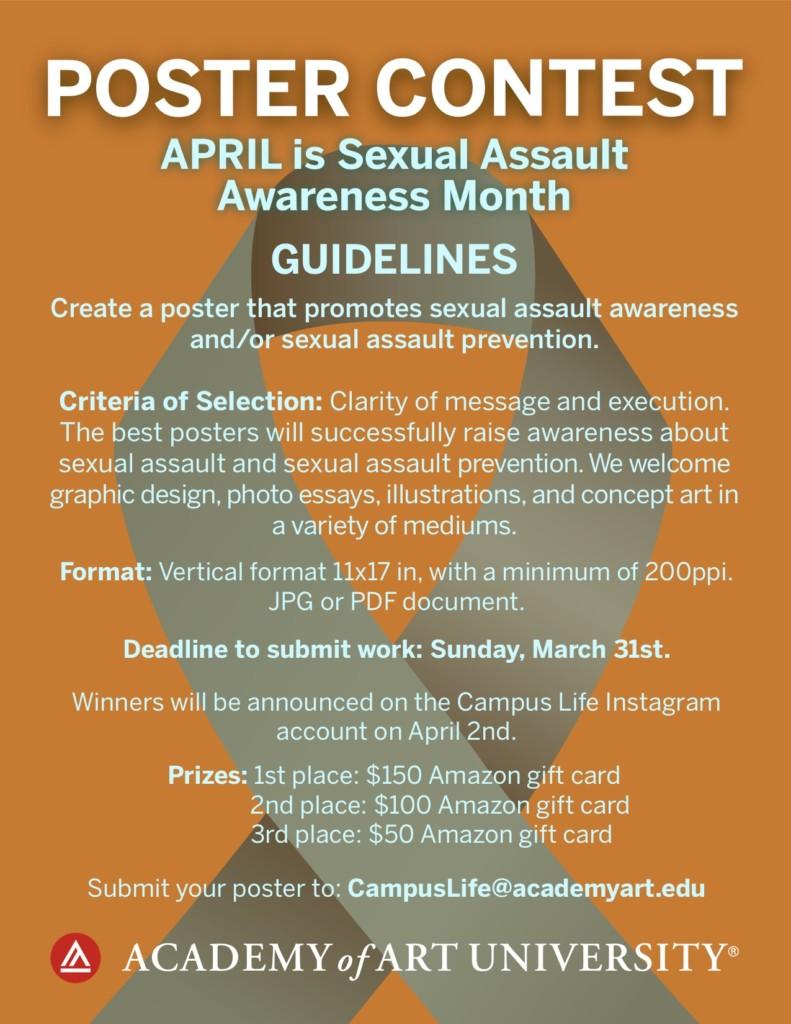 Sexual Assault Awareness Month Poster Contest