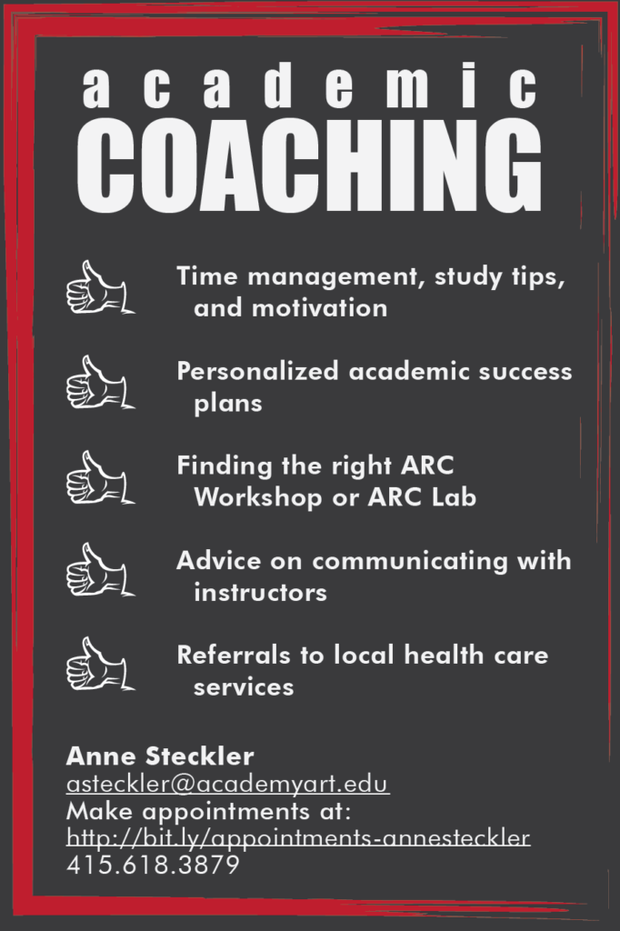 academic coaching poster