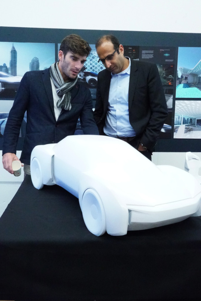 Audi 2040 redesign scale model