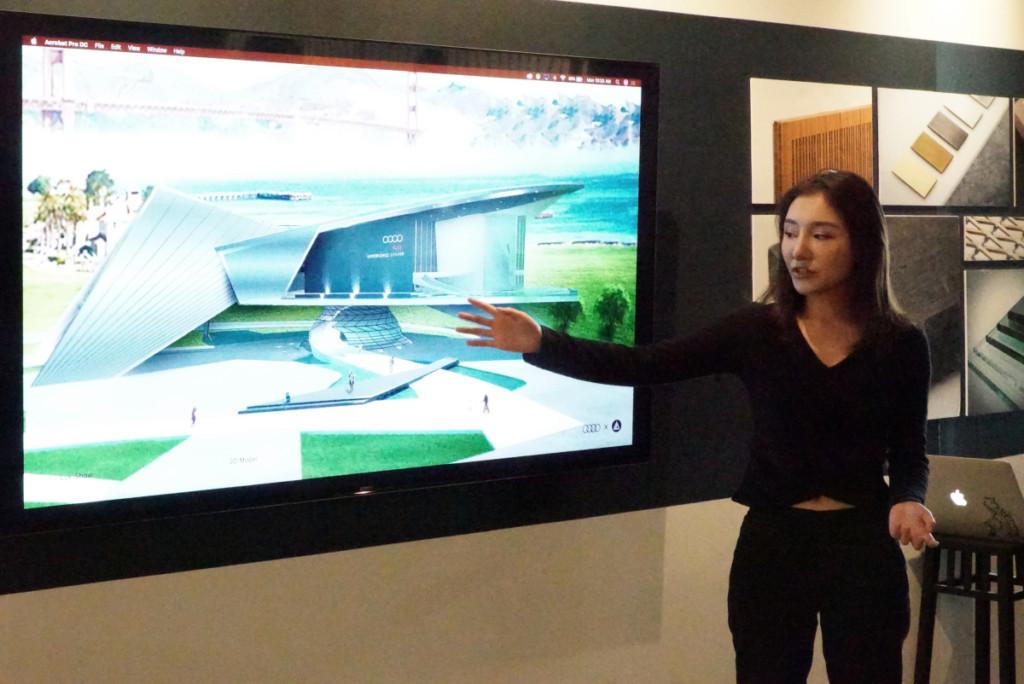 IND students present Audi dealership redesign