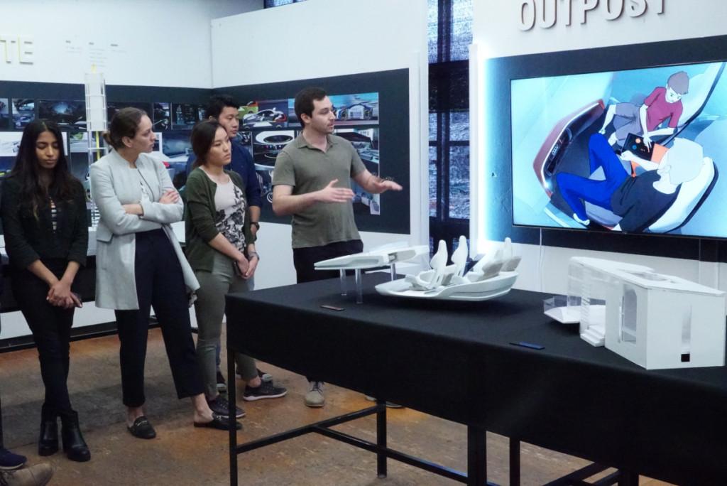 Industrial Design students present their Audi 2040 design