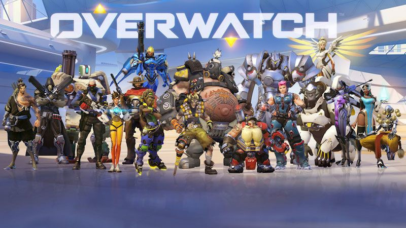 Overwatch characters by Blizzard