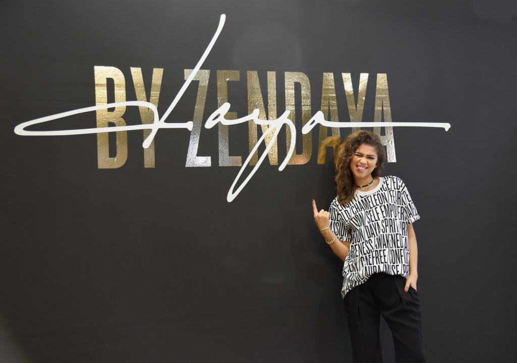 Zendaya launches her fashion line Zendaya