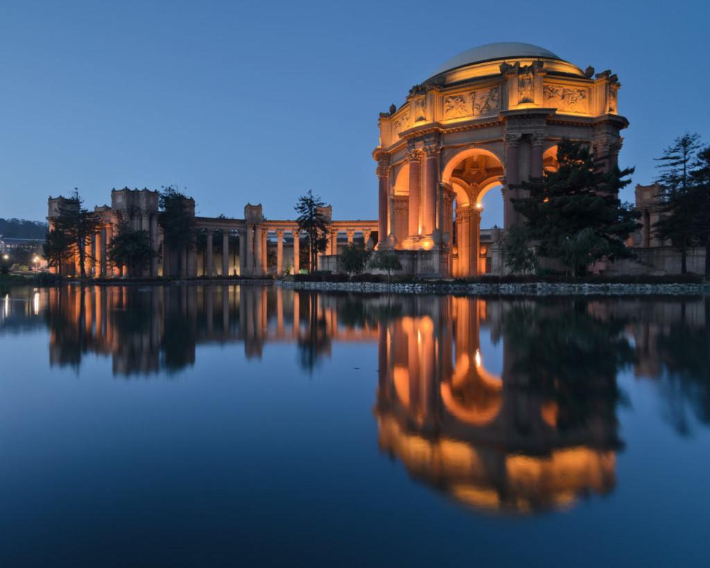 Palace of FIne Arts - Golden Gate Park
