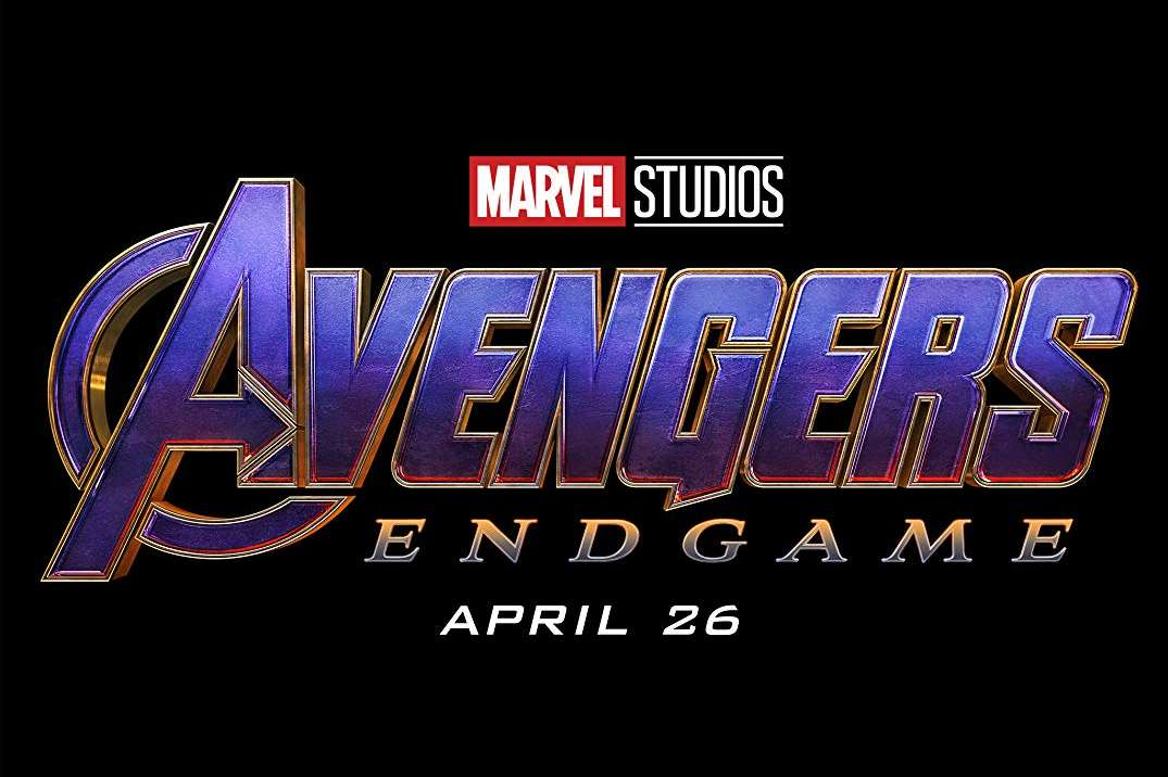 A black background with the following text: Avengers Endgame. April 26th.