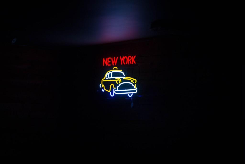 New York Cab Neon Sign
