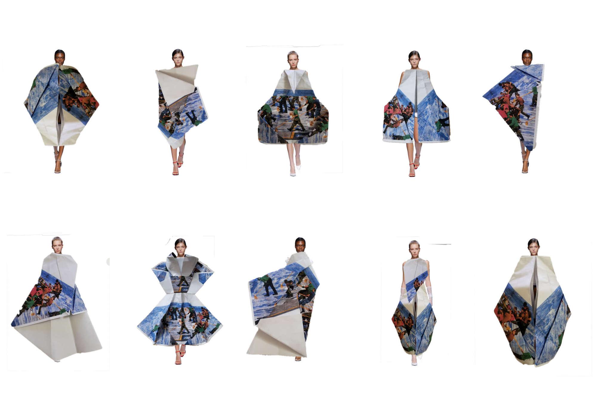 Xuan Wang Fashion Show 2019