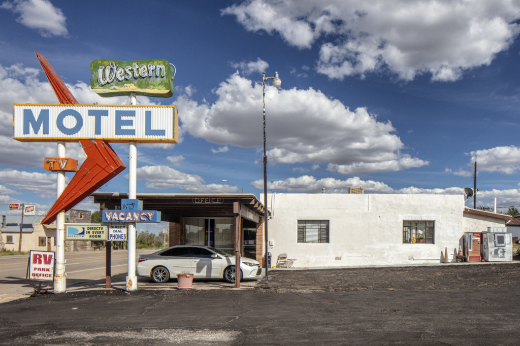 Western Motel, Vaughn, New Mexico by Brian K. Edwards
