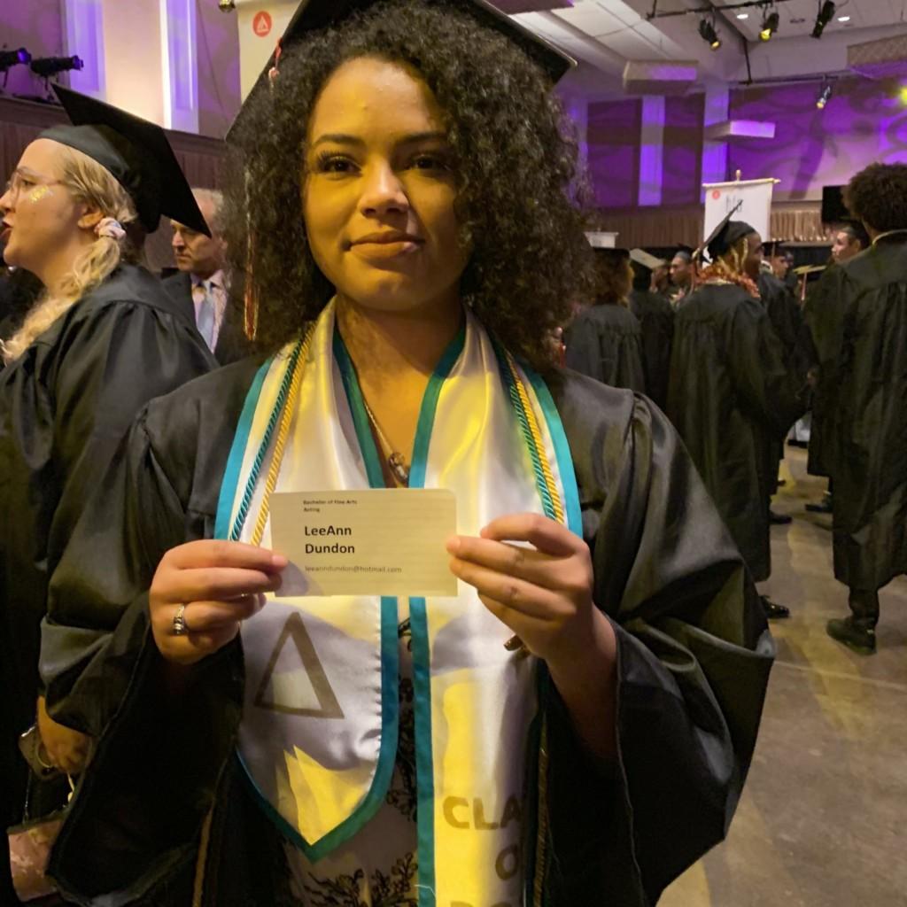 undergrad 2019 LeAnn Dundon