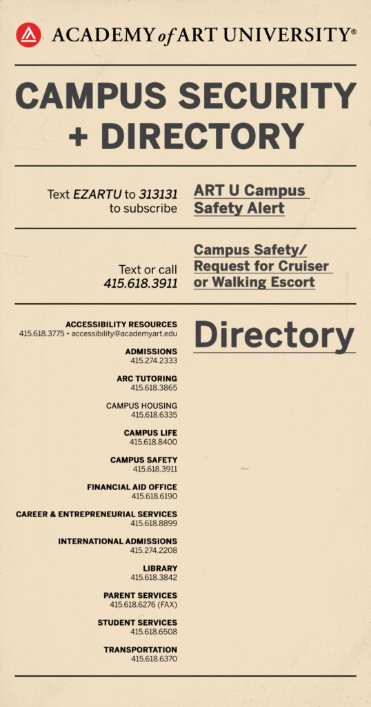 BTS-Campus Safety and Directory