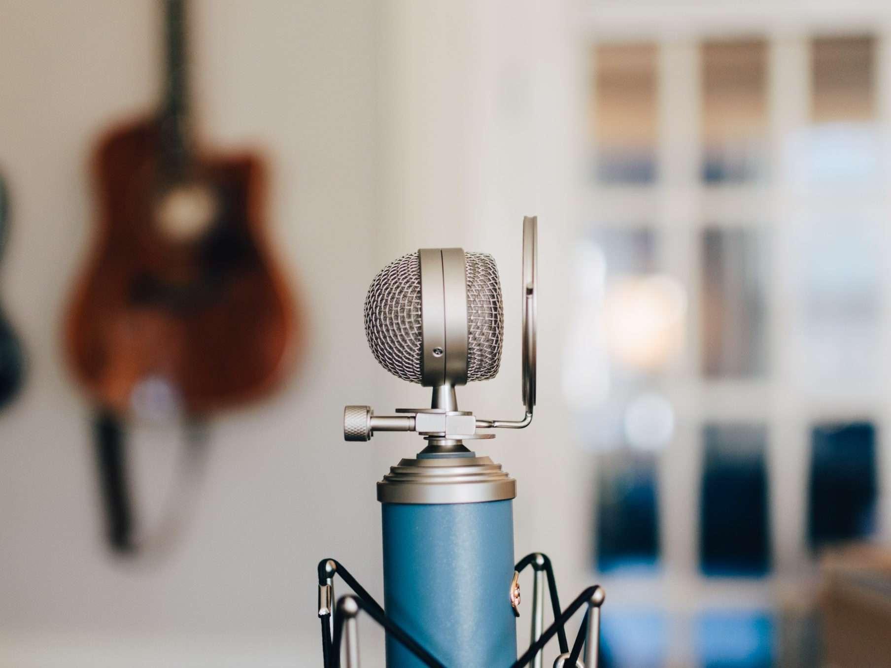 Blue mic