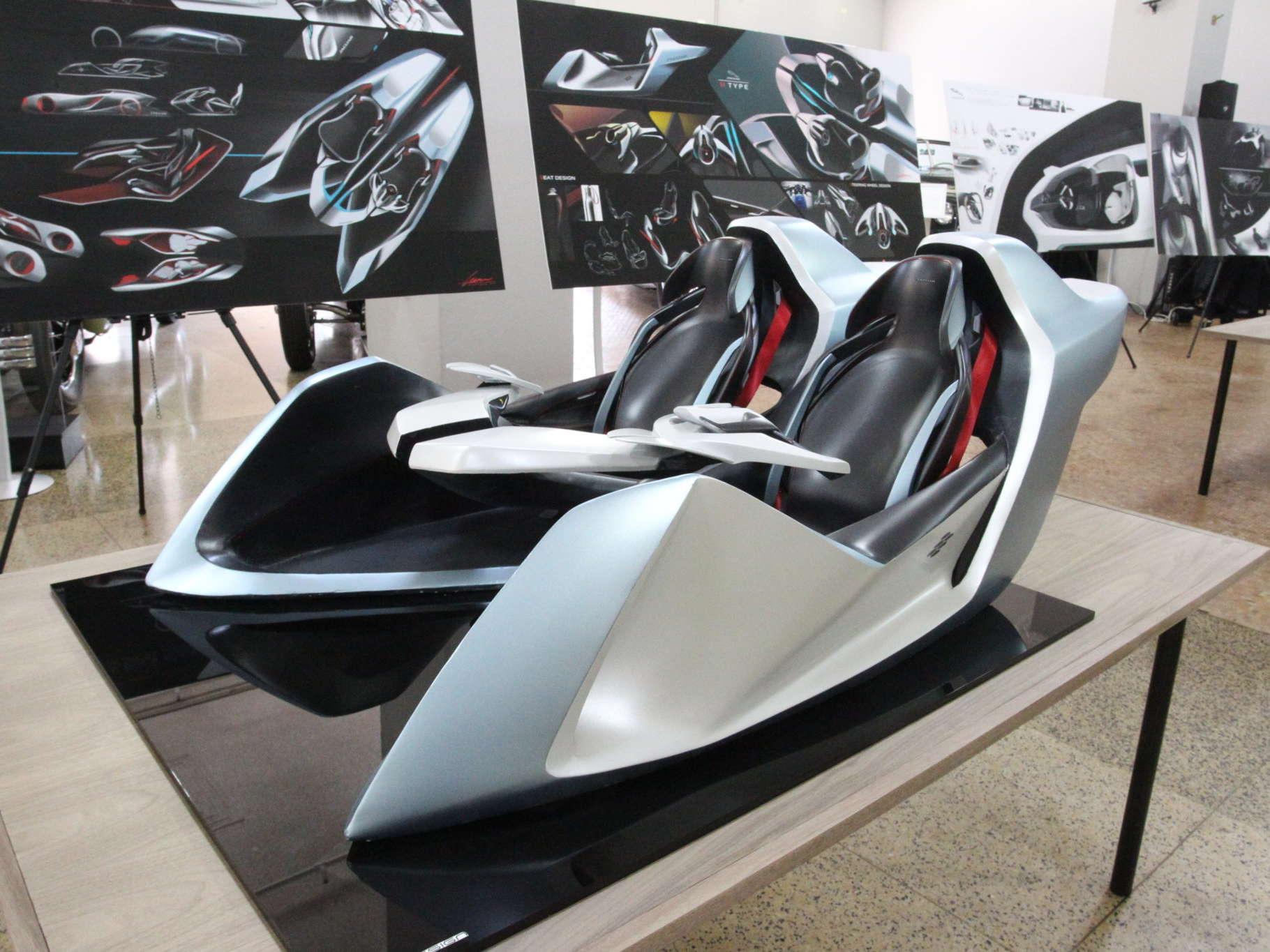 Industrial Design - Jaguar Half-Scale Model