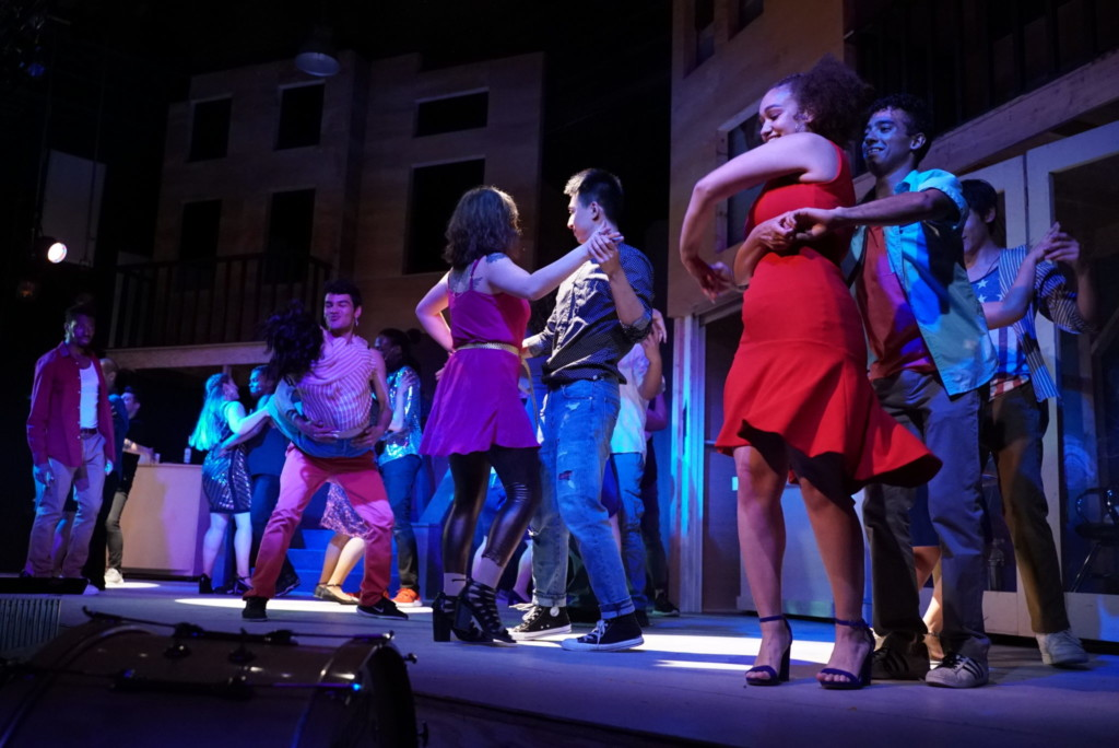 Dance scene from In the Heights