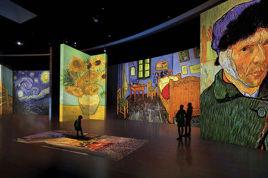 Van Gogh Digital Exhibit