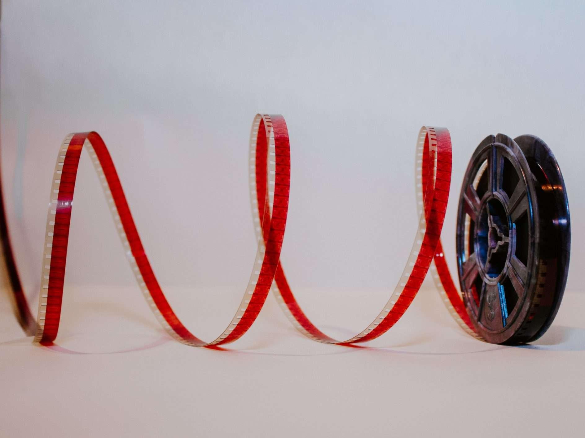 red film reel