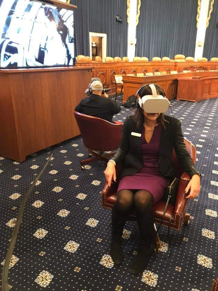 Norman Rockwell VR Experience in Congress
