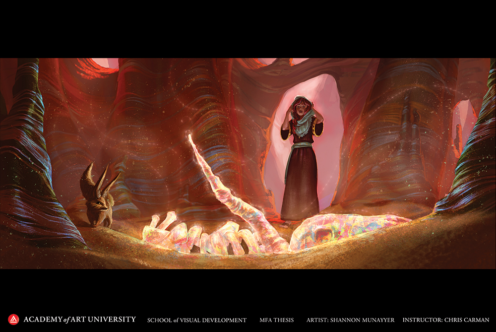 Project by Visual Development student Shannon Munayyer