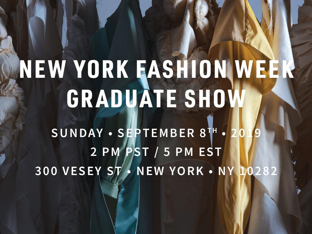 Academy of Art NYFW Graduate Show 2019