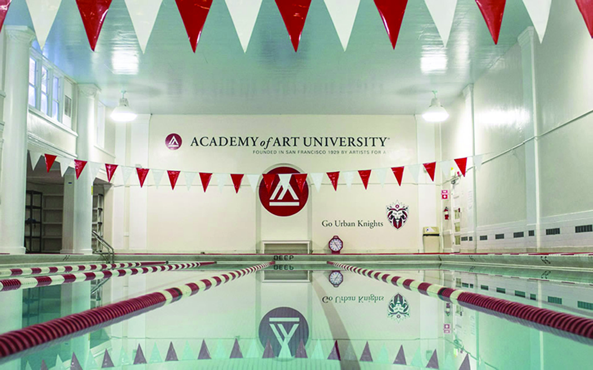 academy of art pool facilities