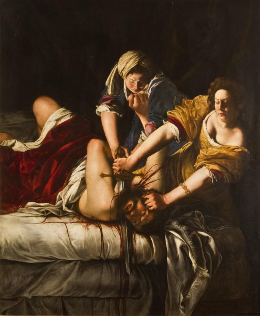 Judith Slaying Holofernes (1620) by Artemisia Gentileschi