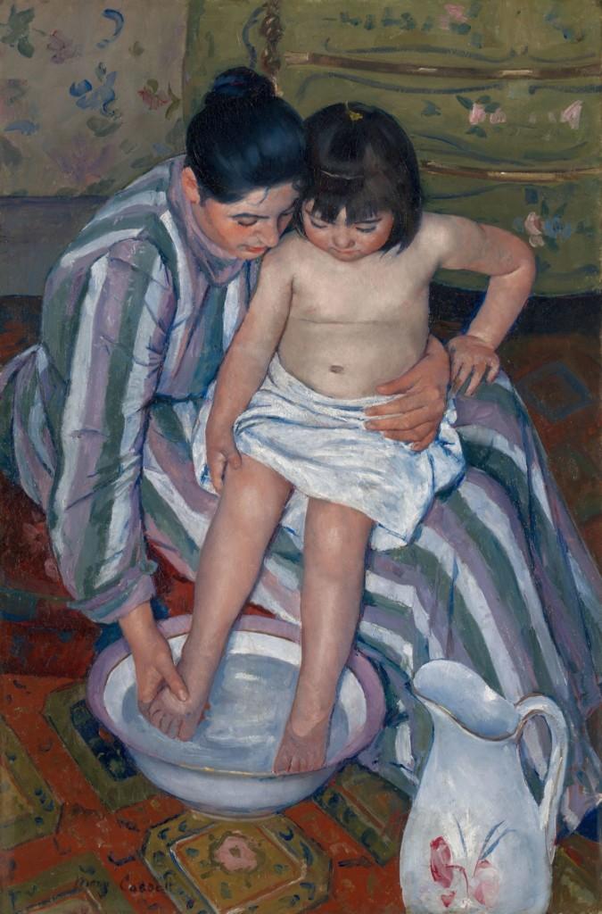 The Child's Bath (1910) by Mary Cassatt