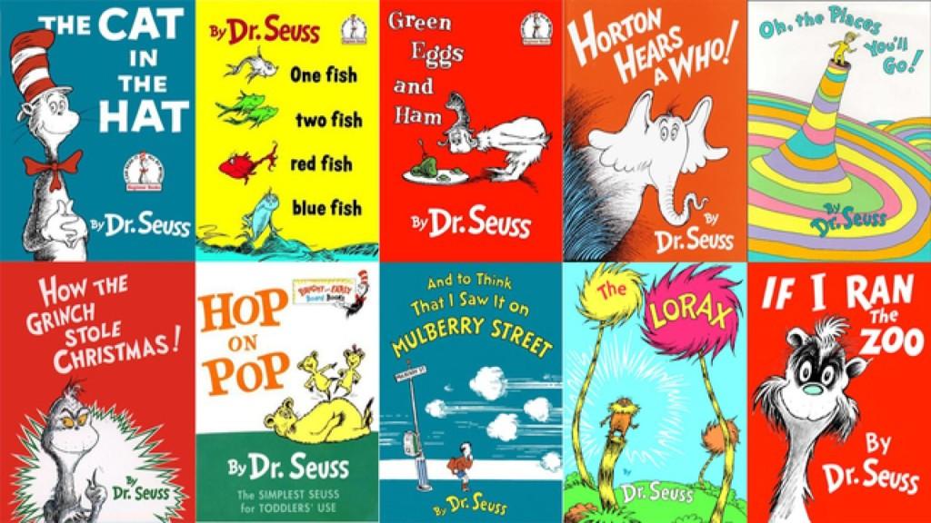 Books by Dr. Seuss