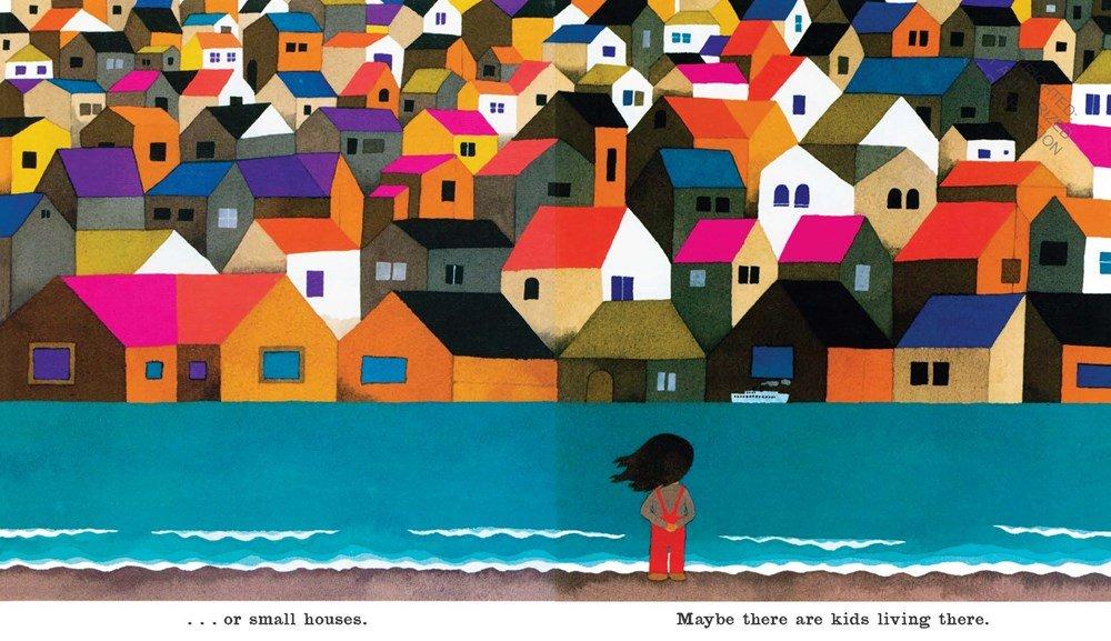 Over the Ocean by Taro Gomi