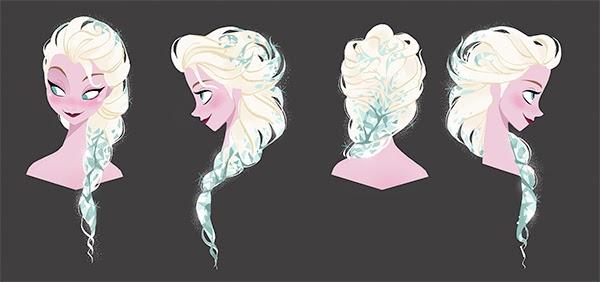 Elsa Hair Design 2 by Brittney Lee