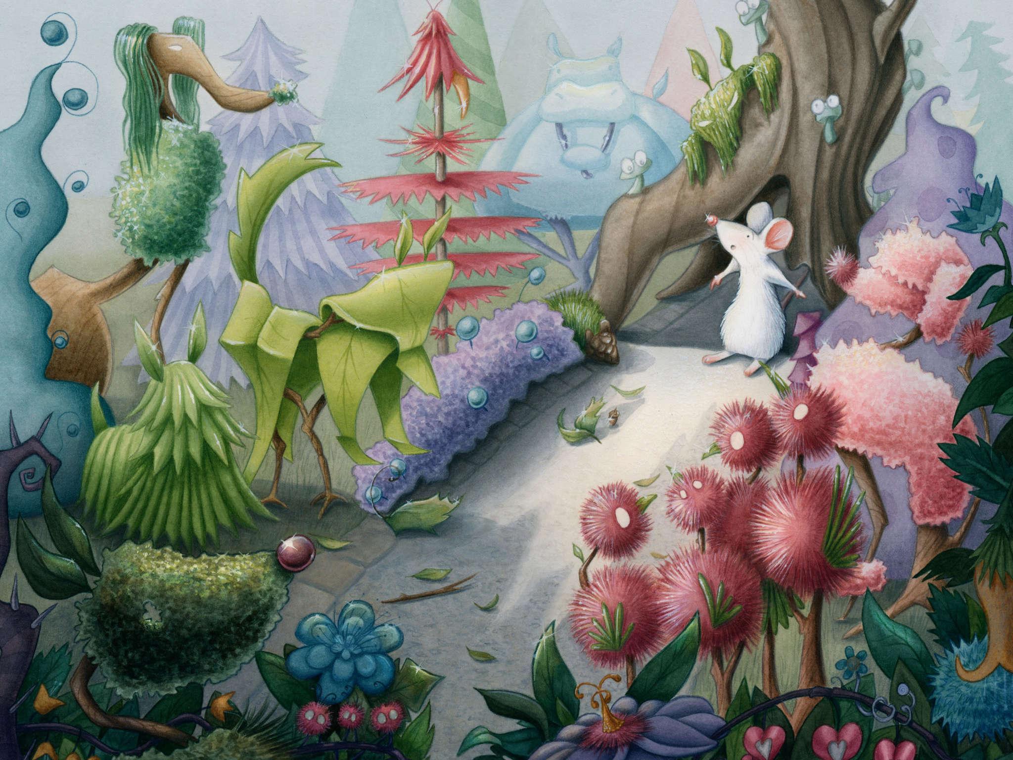 Illustration by School of Illustration student Kristin Makarius