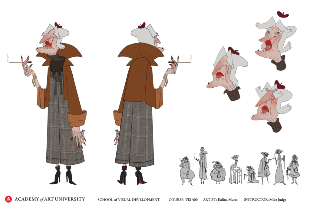Art by Visual Development student Kalina Murat