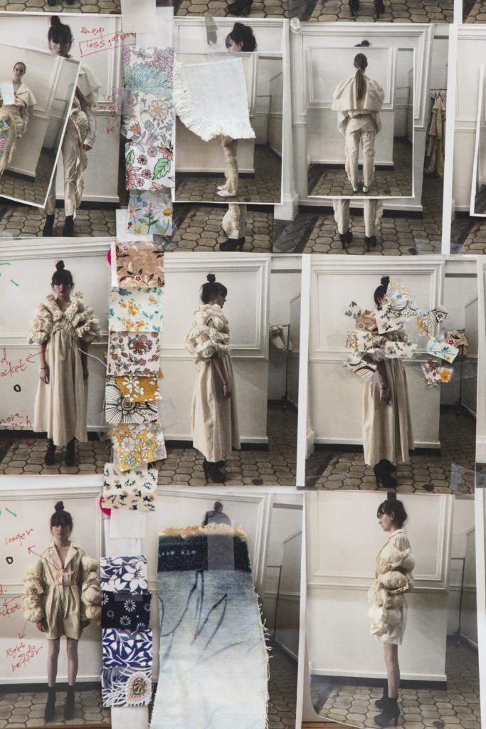 Fashion MFA Design Boards by Abby Yang