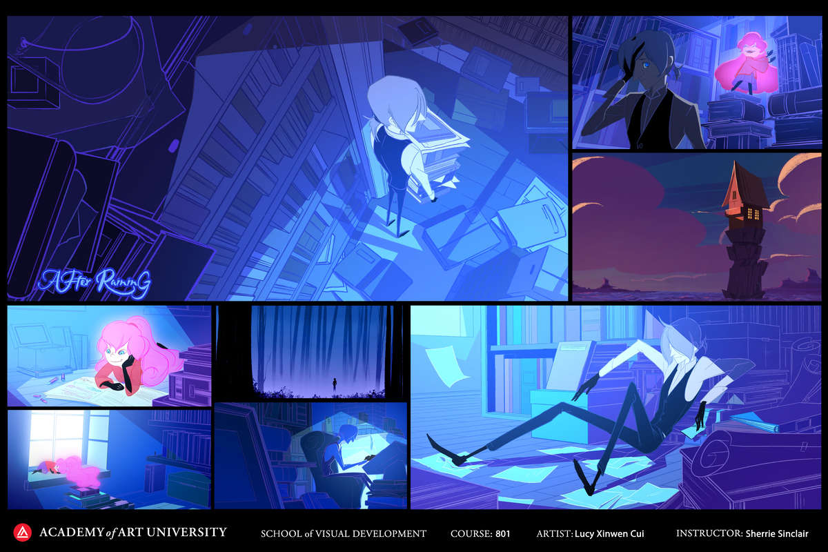 Project by Animation student Lucy Xinwen Cui