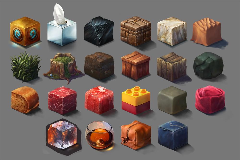 """Cubes"" project by School of Game Development MFA student Ayhan Aydogan"