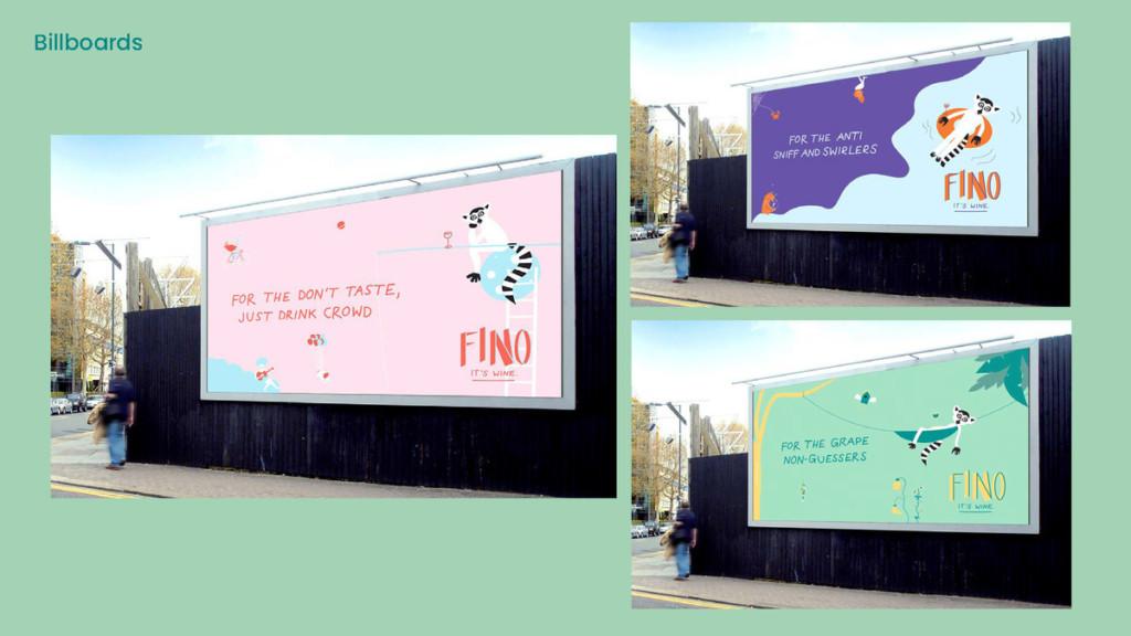 """Fino"" concept by School of Advertising BFA student Maiken Krohn"