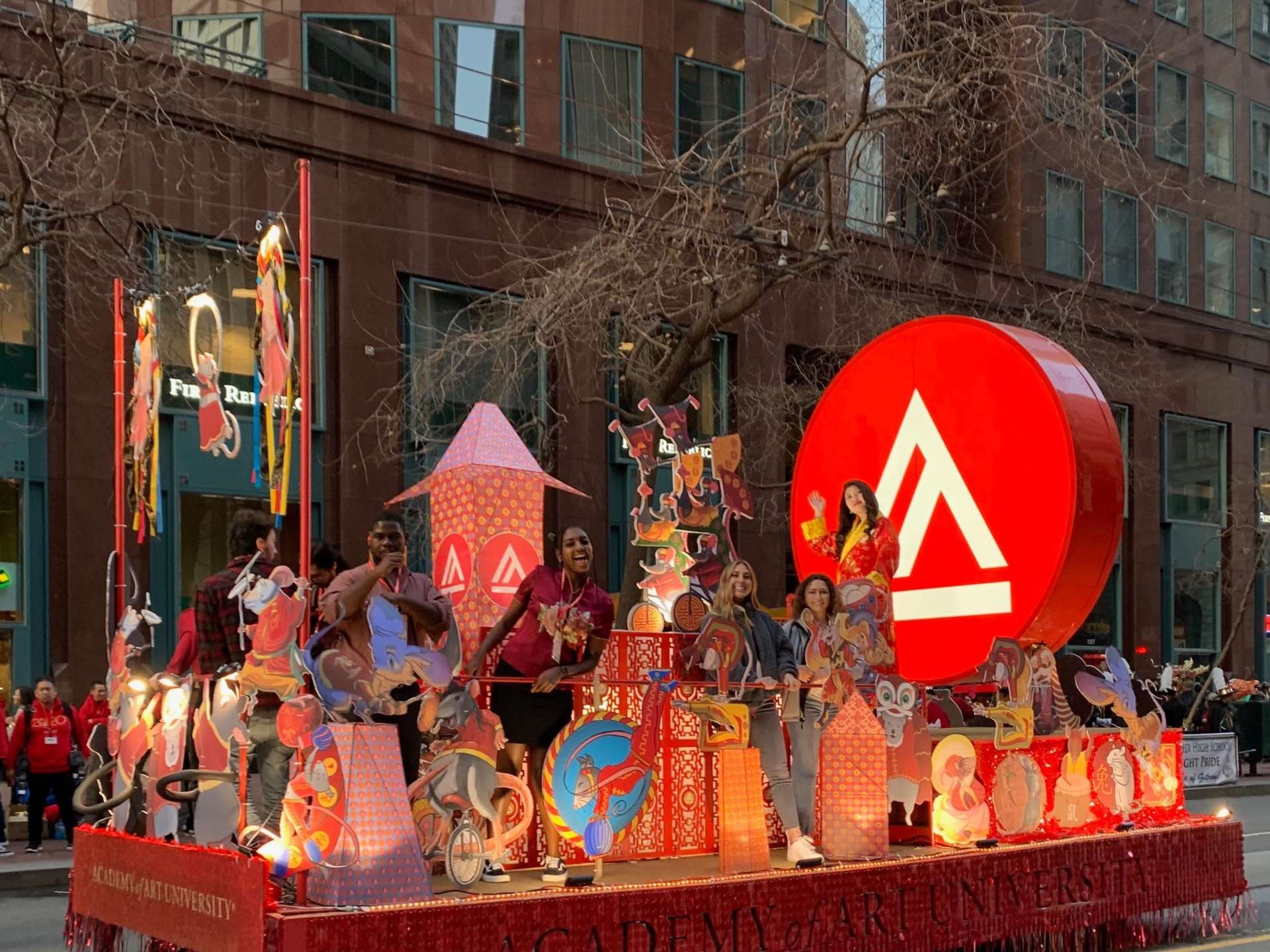 Academy of Art Chinese New Year Parade 2020