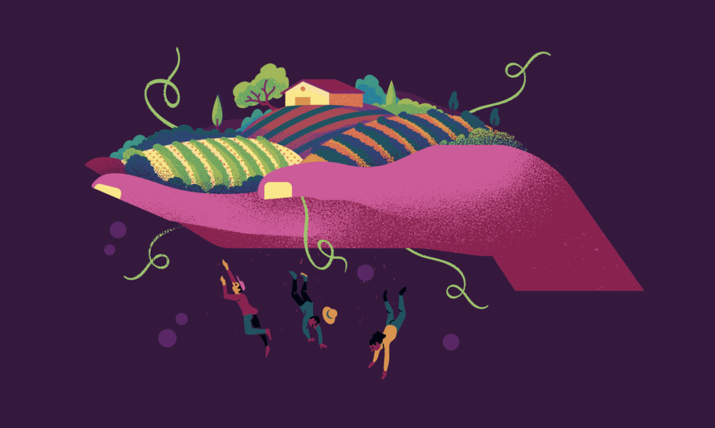 """""""Grapes of Fear"""" by School of Illustration MFA student Joan Alturo"""
