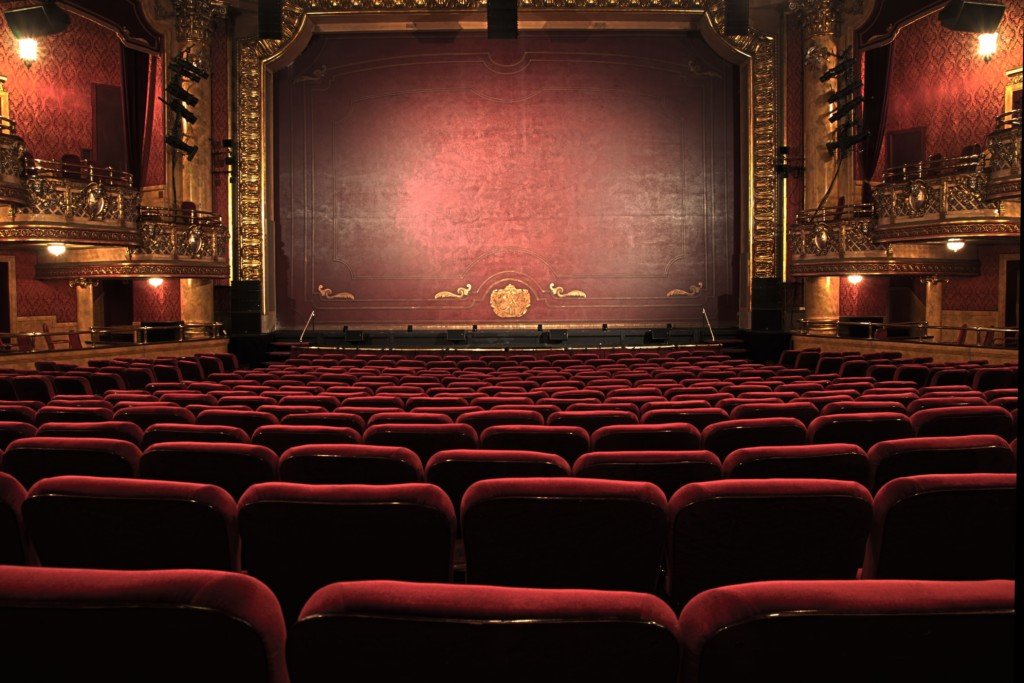 Theater Hall and Stage