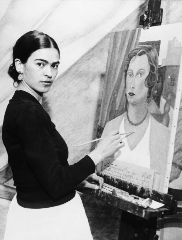 fine art-frida kahlo-biography